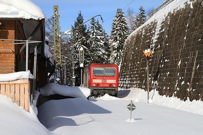 DB 143055, Seebrugg, RB26930 1039 to Freiburg(Brsg) - 04/02/15.