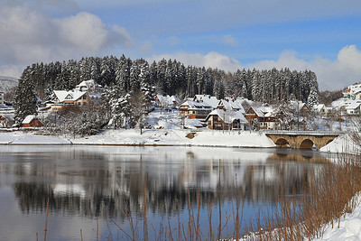 View from Schluchsee station - 04/02/15.