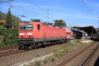 DB 143098 dep Bad Kösen, RB16509 11.14 Naumburg (Saale)-Saalfeld (Saale) - 02/10/15.