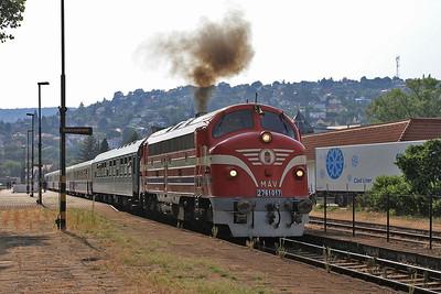 Hungarian & Belgian Railways, 14th-18th August 2015