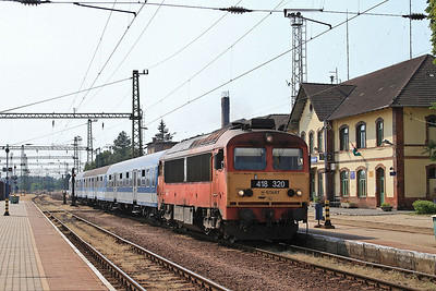 MÁV 418320, Gyékényes, 8904 13.08 Szombathely-Pécs - 14/08/15.