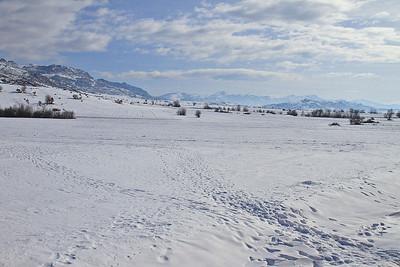 Wintery views near Prilep en route to Bitola - 10/01/15.