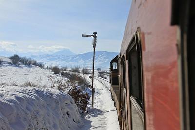 MŽ 661236 near Bakarno, IR641 06.42 Skopje-Bitola - 10/01/15.