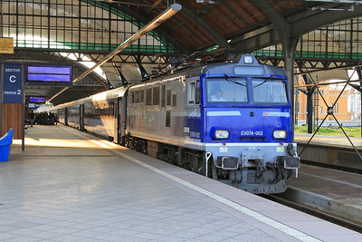 PKP EU07A 002, Wrocław Gł, TLK56102 11.27 Gdynia-Wrocław - 24/04/15.