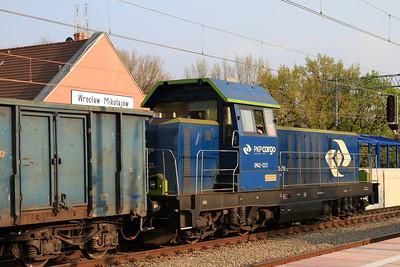 PKP SM42 1231, Wrocław Mikołajów, trip freight - 24/04/15.