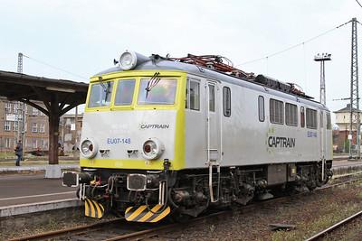 Captrain EU07 148, Jaworzyna Śląska - 24/04/15.
