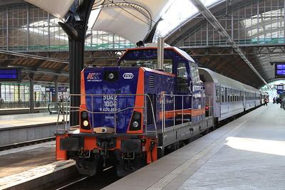 PKP SU42 1004, Wrocław Gł, shunting ECS - 24/04/15.