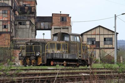 Industrial 401Da 350 outside the former coal mine 'Julia' near - Wałbrzych - 24/04/15.
