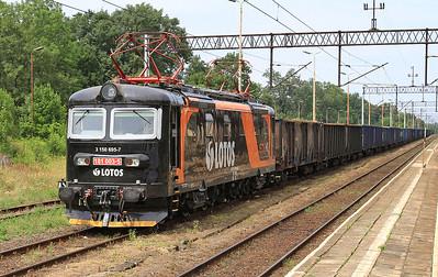 STK 181003, Ziębice, lengthy coal train - 23/07/15.