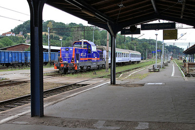 PKP SU42 1003, Kłodzko Gł, TLK66150 13.16 Kodowa Zdrój-Wrocław - 23/07/15.