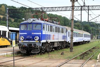 PKP EP07 1068, Kłodzko Gł, TLK66150 13.16 Kodowa Zdrój-Wrocław - 23/07/15.