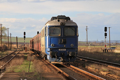 CFR 60-1291 arr Buhâieşti, R6404 17.20 Iaşi-Bârlad - 01/04/15.