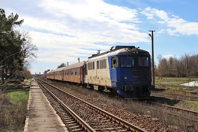CFR 60-1245, Frunzeasca, R13613 10.20 Tecuci-Iaşi - 01/04/15.