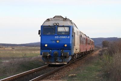 CFR 65-0980 arr Brâhâşoaia, R6417 18.33 Vaslui-Iaşi - 01/04/15.
