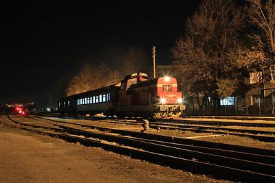 BDZ 55138, Lovech, KPV24225 19.22 Levski-Troyan - 08/12/16.