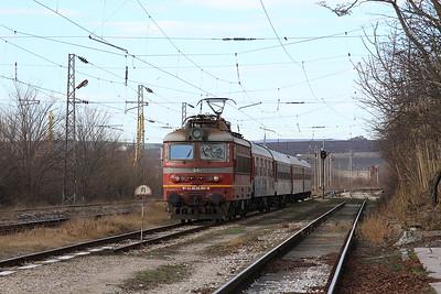 BDZ 45192 arr Topolite, BV2655 07.12 Pleven-Varna - 09/12/16.