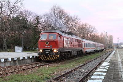Bulgarian Railways, 8th-13th December 2016