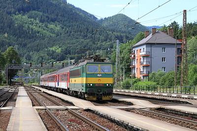 ZSSK 162006, Ružomberok, Rex759 14.10 Žilina-Liptovský Mikuláš - 21/06/16.