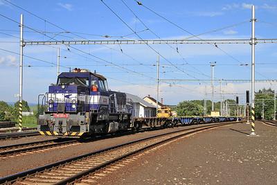 ZSSKC 746003, Poprad Tatry, flat wagons - 21/06/16.