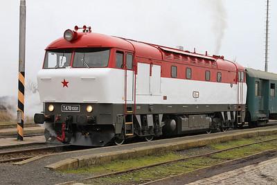 ČD 751001, Senice na Hané, NFP 'Steaming Through Jeseníky' - Day 1 - 06/02/16.