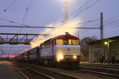 ČD 751001, Nezamyslice, NFP 'Steaming Through Jeseníky' - Day 1 - 06/02/16.