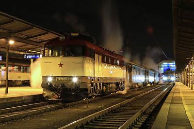 ČD 751001, Brno Hl, NFP 'Steaming Through Jeseníky' - Day 1 - 06/02/16.