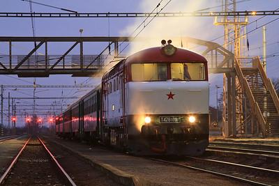 Czech Railways, 5th-8th Feb 2016