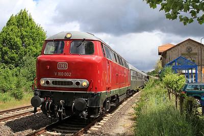 RPRS 216002, Salzgitter Bad, DPE62144 05.45 Treysa-Klein Mahner 'Sonderzug' - 15/05/16.
