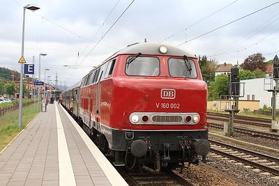 RPRS 216002, Kreiensen, DPE62143 05.45 Treysa-Klein Mahner 'Sonderzug' - 15/05/16.
