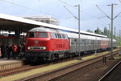 RPRS 216002, Braunschweig Hbf, DPE62144 05.45 Treysa-Klein Mahner 'Sonderzug' - 15/05/16.