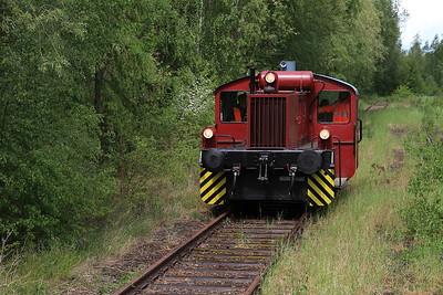 WTB 323479 running round at Börssum - 15/05/16.
