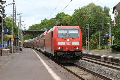 DB 146255 arr Treysa, RE4163 16.23 Kassel-Frankfurt (Main) - 14/05/16.