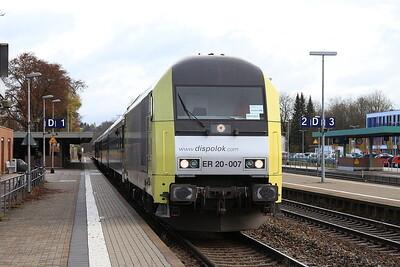 Dispolok 223007, Kaufbeuren, ALX84134 09.19 München-Oberstdorf - 11/11/16.