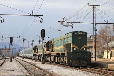 French, Swiss, Austrian, Slovenian & Hungarian Railways, 23rd-30thMarch 2016