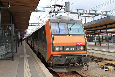SNCF 26166, Luxembourg, IC91 07.33 Brussel Zuid-Basel SBB - 23/03/16.