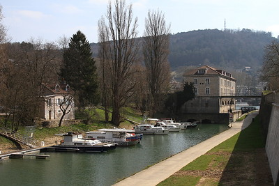 View of Besançon & the River Doubs - 24/03/16.