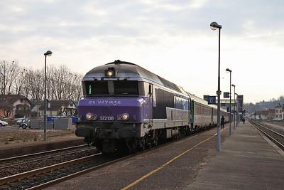 SNCF 72138, Lure, 1742 08.20 Belfort-Paris Est - 24/03/16.