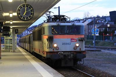 SNCF 25663, Epinal, 835244 18.33 Remiremont-Nancy - 23/03/16.