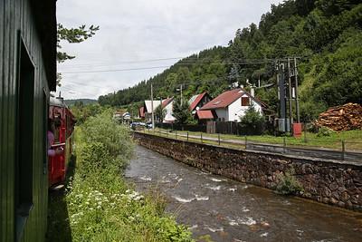 ČHŽ Railcar M21 004 en route, 12.15 Svätý Ján-Chvatimech Charter - 01/07/17.