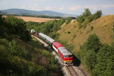 Czech & Slovak Railways, 30th June - 9th July 2017