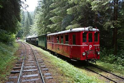 ČHŽ Railcar M21 004, Svätý Ján, 12.15 Charter to Chvatimech - 01/07/17.