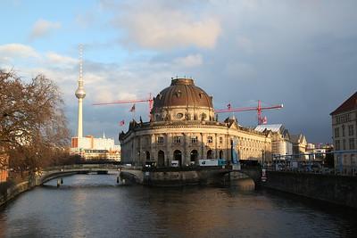 Bode Museum & Fernsehturm (Television Tower), Berlin - 01/03/17.