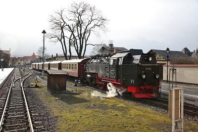 HSB 99 222, Wernigerode, 8930 13.14 ex Brocken - 02/03/17.
