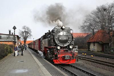 HSB 99 7235, Wernigerode, 8937 14.55 to Brocken - 02/03/17.