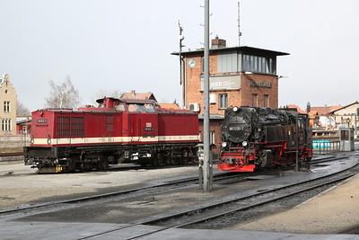 HSB 199872 / 99 7235, outside Wernigerode depot - 02/03/17.