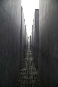 Holocaust Memorial, Berlin - 01/03/17.