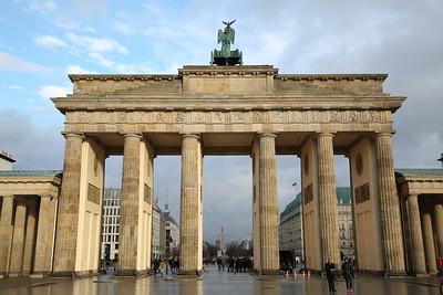 Brandenburg Gate, Berlin - 01/03/17.