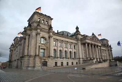 Reichstag (German Parliament Building), Berlin - 01/03/17.