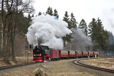 German Railways (DB + HSB) +  Deutsches Technikmuseum, Berlin, 1st-5th March 2017