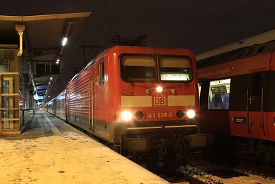 DB 143628, Nürnberg Hbf, S39586 0646 Altdorf (b. Nürnberg)-Schwabach - 03/01/17.